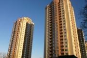 Будівництво житлових будинків з об'єктами соціально-культурного призначення та підземним паркінгом площею 73 500 м²